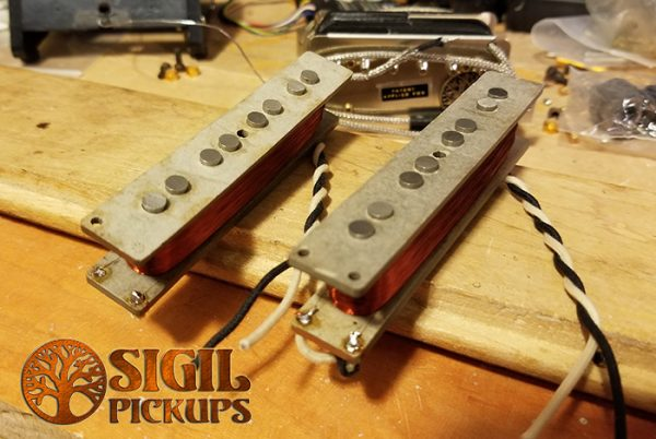 Sigil Pickup Jazz Bass